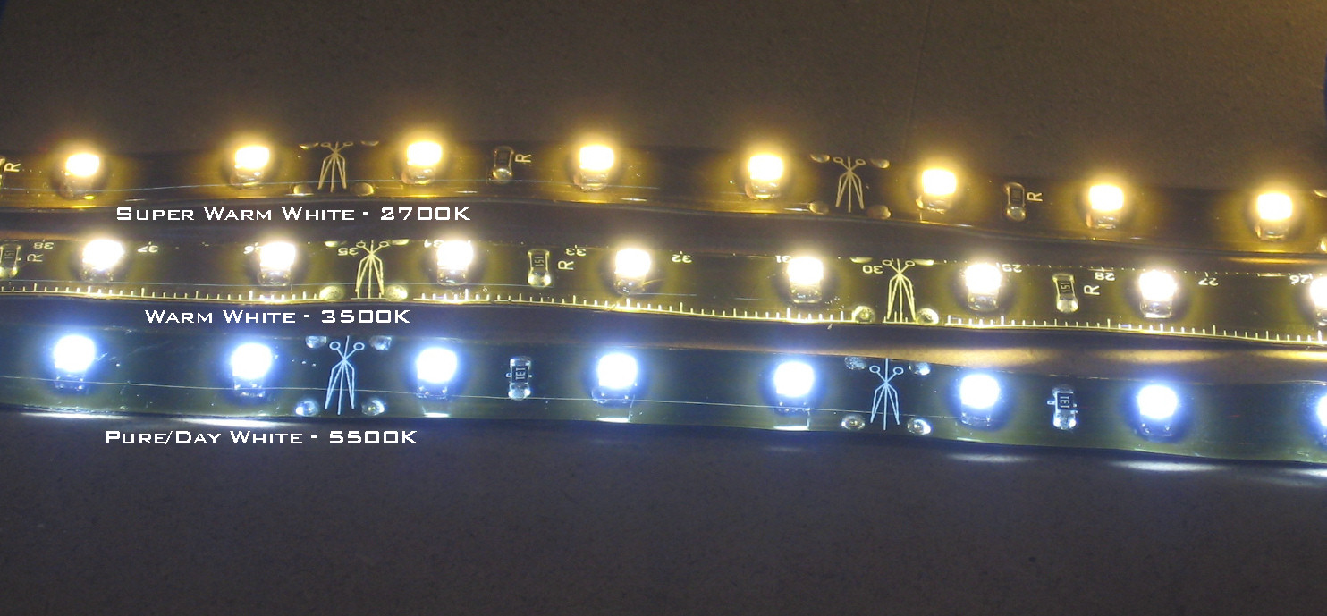 Side fire led warm white waterproof led flex strips 12v warm 2700k warm white led strips aloadofball Image collections