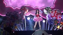 LED Cloud Surrounds - Teenage Dreams Tour
