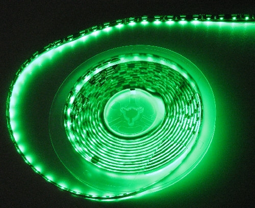 Side Fire/Light 3014LED Emerald Green Water Resistant LED