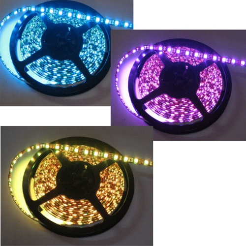 Water Resistant Led Flex Strips Tape Lights Low